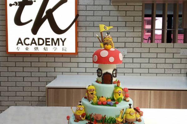 Minion Designer Cake