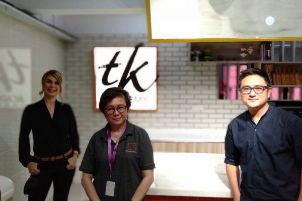 Thanks Victoria Horrox from City & Guilds, London for a visit to TK ACADEMY