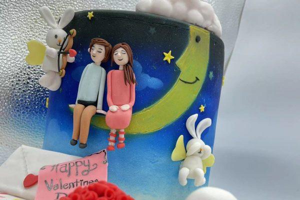Valentine Fondant Cake (12) Compressed